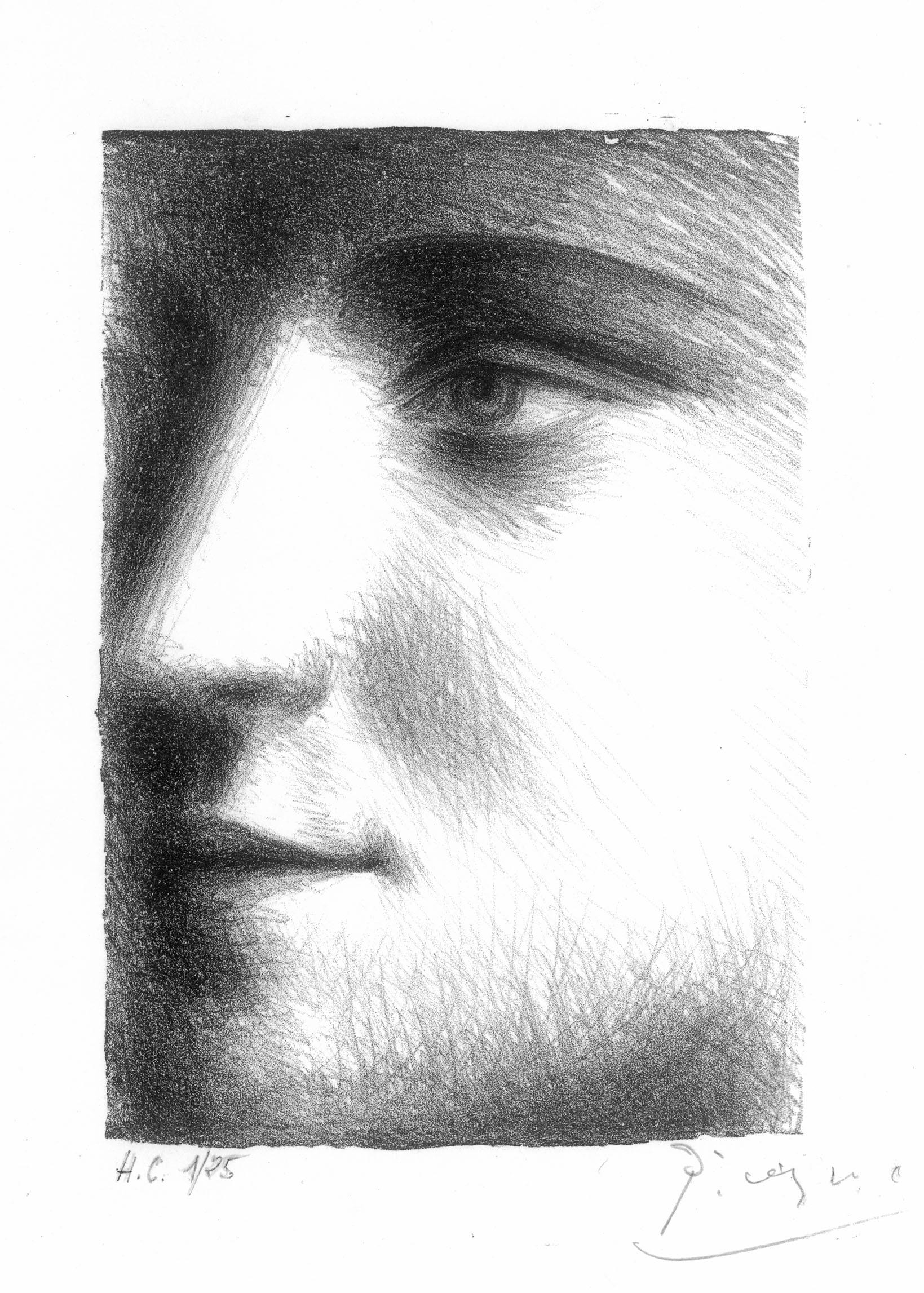 Pablo Picasso _Visage,_ Face of Marie-Thérèse